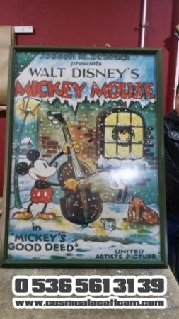 Walt Disney's MICKEY MOUSE Sanatsal Çerçeve